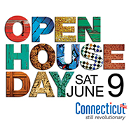 Connecticut Open House Day logo.
