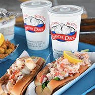 Lobster Rolls from Captain Scott's Lobster Dock