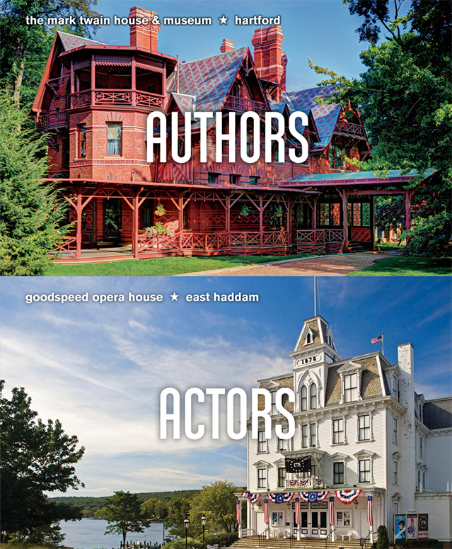 Mark Twain House & Museum, Hartford - Goodspeed Opera House, East Haddam