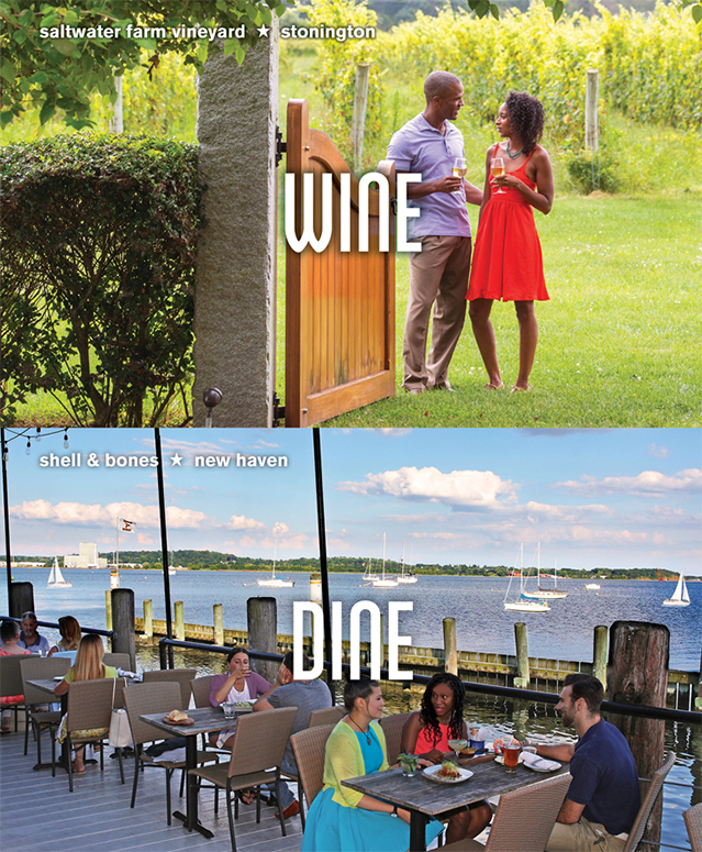 Saltwater Farm Vineyard, Stonington - Shell & Bones, New Haven