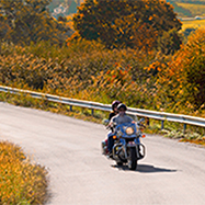 Motorcycle scenic drive